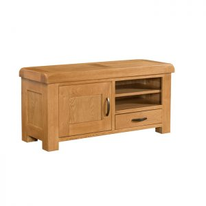 Clovelly Oak - Large TV Unit