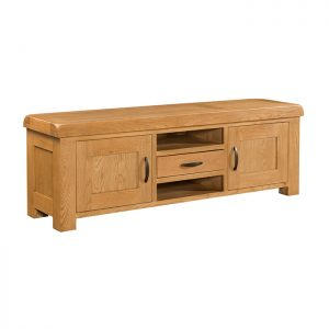 Clovelly Oak - Extra Large TV Unit