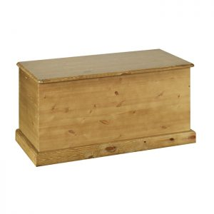 Torridge Pine Blanket Box