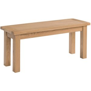 Small, Large Bench Seat - Oak