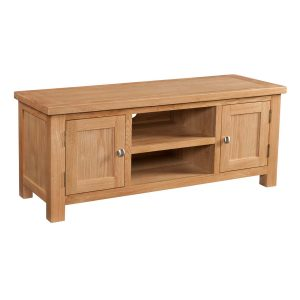 Large TV Unit - Oak