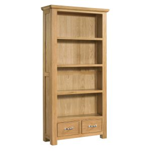 Siena Oak Large Bookcase