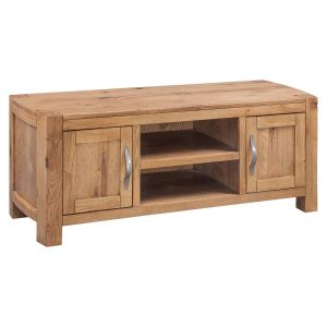 Como Oak Large TV Unit