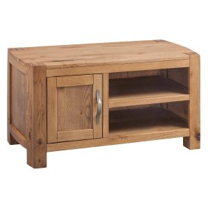 Como Oak Small TV Unit