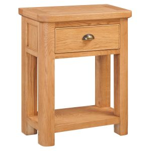 Evesham Oak Small Console Table