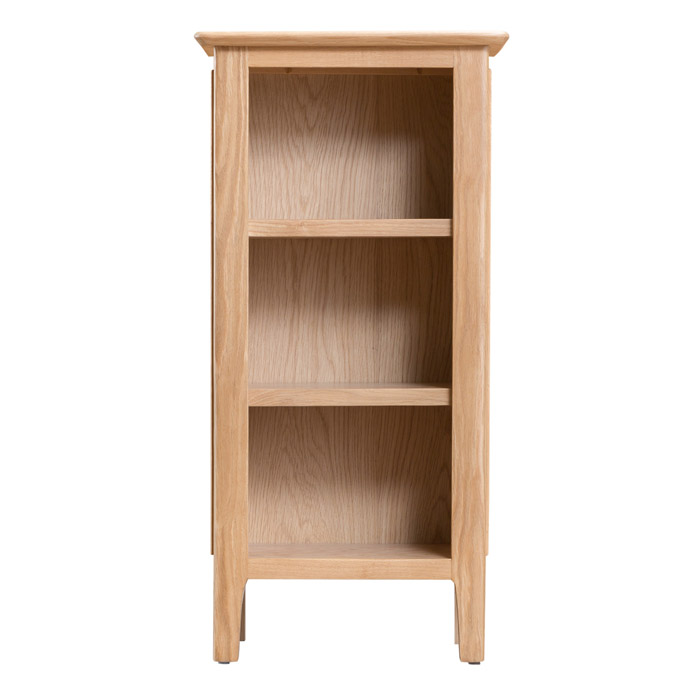 Small Narrow Bookcase Countryside Pine And Oak