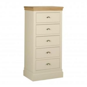 LB50 Lundy 5 Drawer Wellington Chest