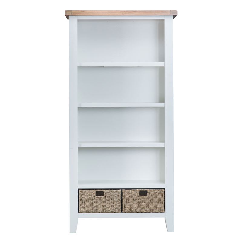 Large Bookcase Countryside Pine And Oak
