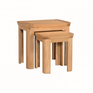 Treviso Oak Nest of Tables