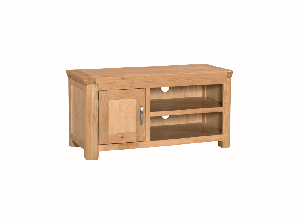 Standard Tv Unit Countryside Pine And Oak